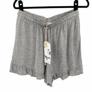 NEW Show Me Your Mumu Benji Tunic Shorts in Grey